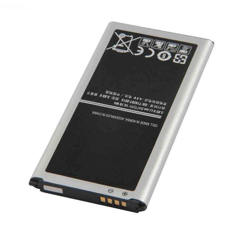 2800mah Eb-bg900bbc Eb-bg900bbe Battery For S5 I9600 I9602 I9605 G900f G900t G9008 G9009d G9006w G900 S5 Neo Sm-g903