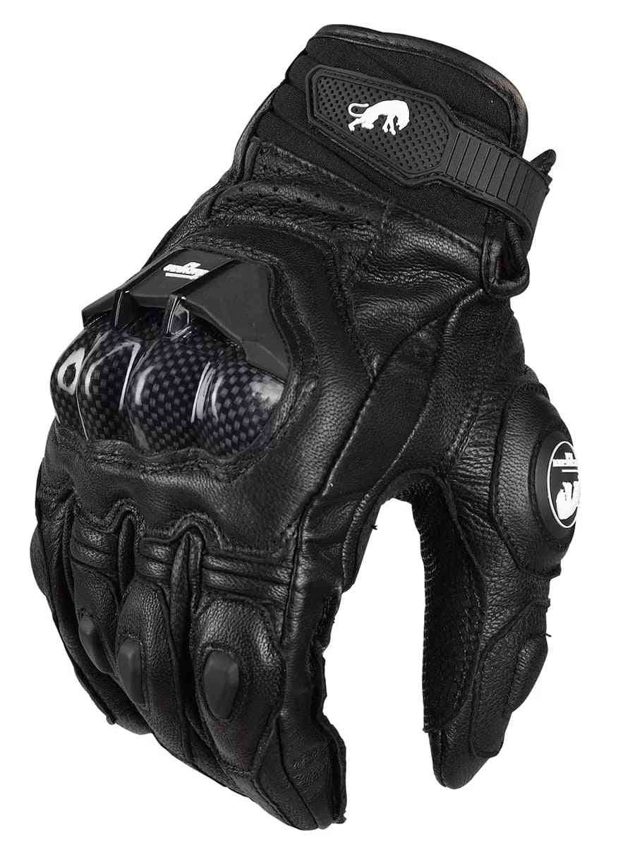 Leather Furygan Afs 6 Motorcycle Gloves