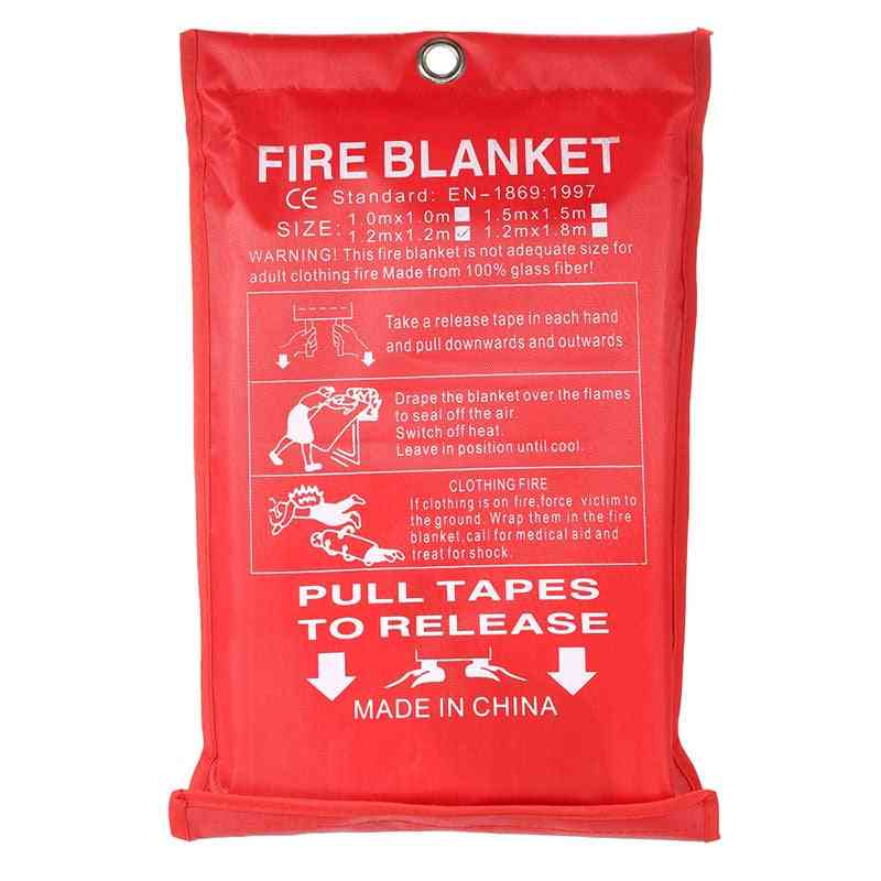 Zk20 1.5x1.5m Sealed Fire Blanket / Shelter Safety Cover