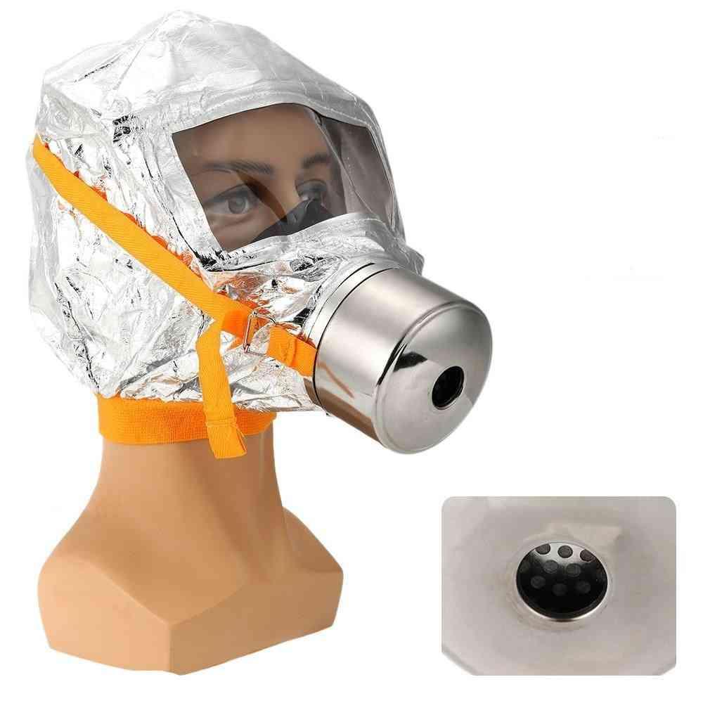 Emergency Escape & Firemen Fire Oxygen Mask / Toxic Filter