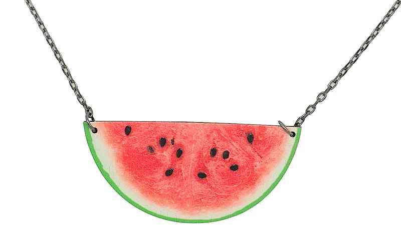 Watermelon Necklace #6108