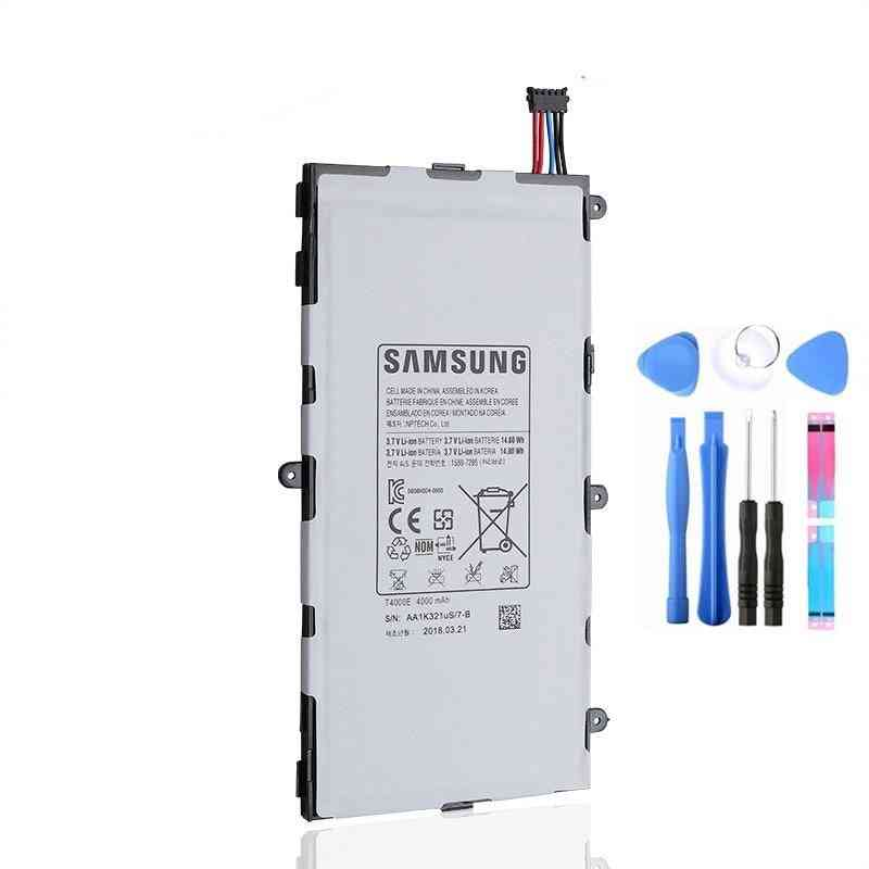 Original  Replacement Tablet Battery T4000e 4000mah For Tab3 7.0 T210 T211 T2105 T217a Sm-t210