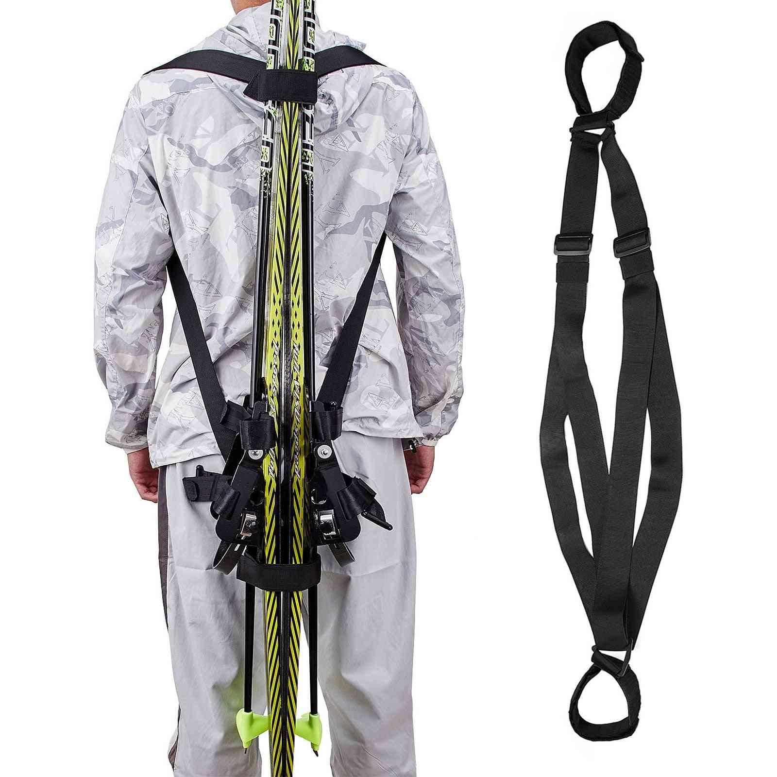Ski Board Shoulder Belt Fixed Strap Bandage Handheld Adjustable Outdoor Sports
