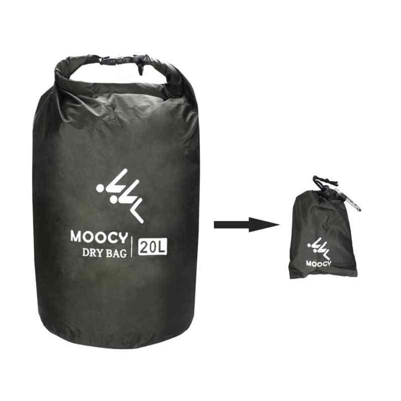 5l/20l/50l Waterproof Dry Roll Top Sack Rafting Boating Swimming Storage Bag