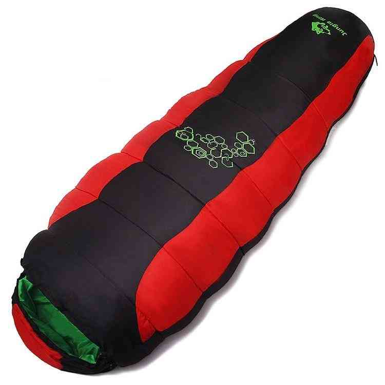 Four Holes- Cotton Sleeping Bags For Outdoor Mountaineering, Camping Bag