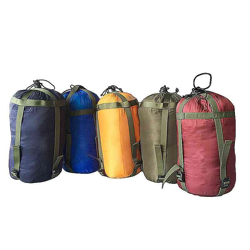 Outdoor Sleeping Bag- Sack Clothing Sundries, Storage Pouch, Camping Equipment