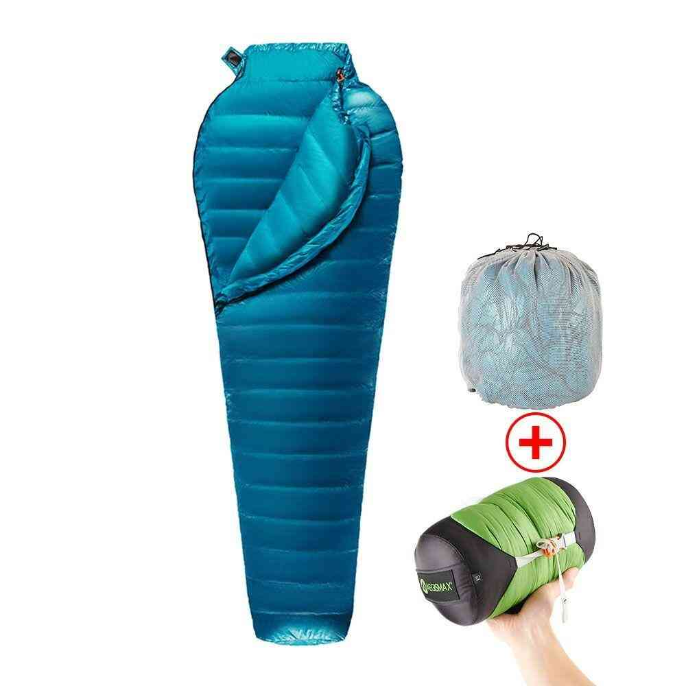 Ultralight Mummy, Down-sleeping, Lining Bag For Outdoor Camping, Hiking