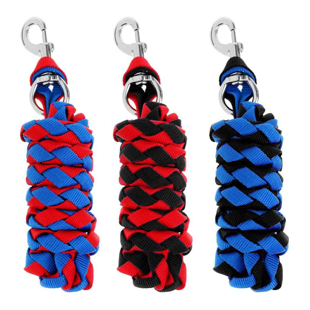 Durable Heavy Duty Horse Riding Braided Equestrian Lead Rope With Sturdy Clasp