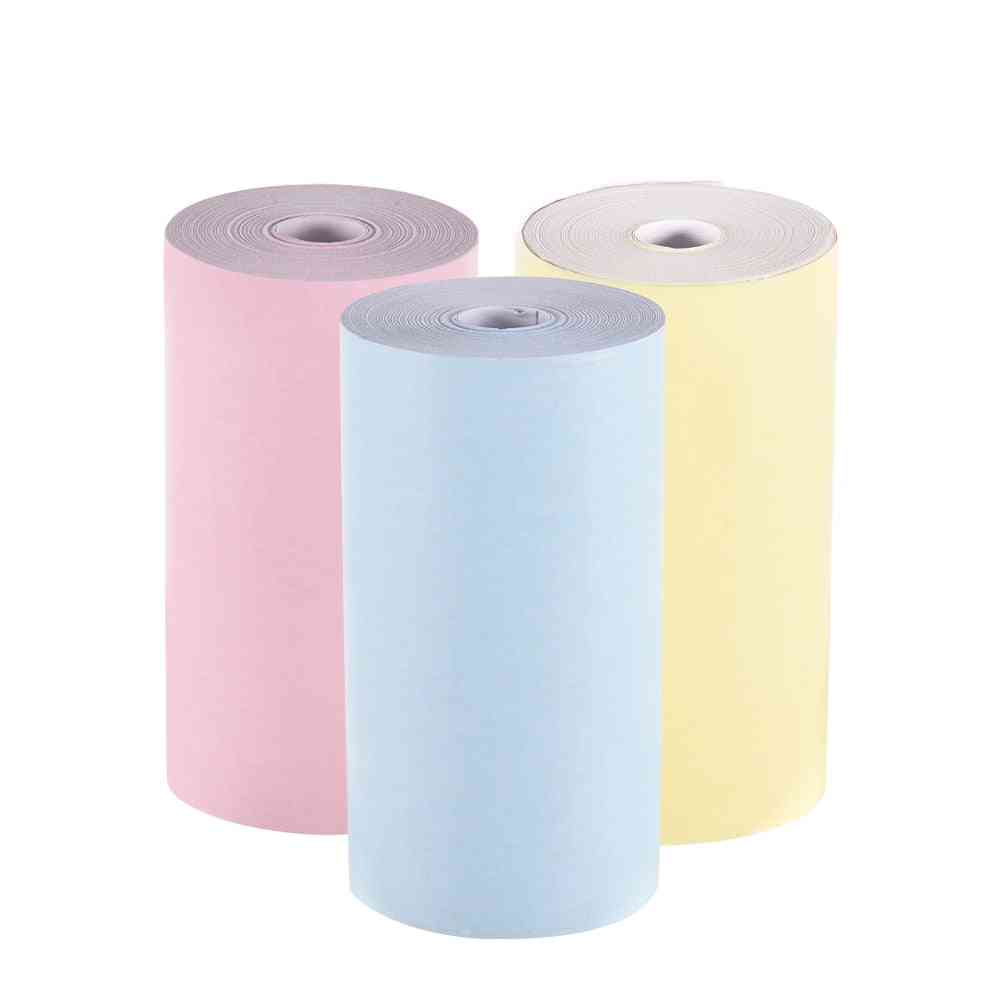 Color Thermal-paper Roll 57*30mm Photo Paper