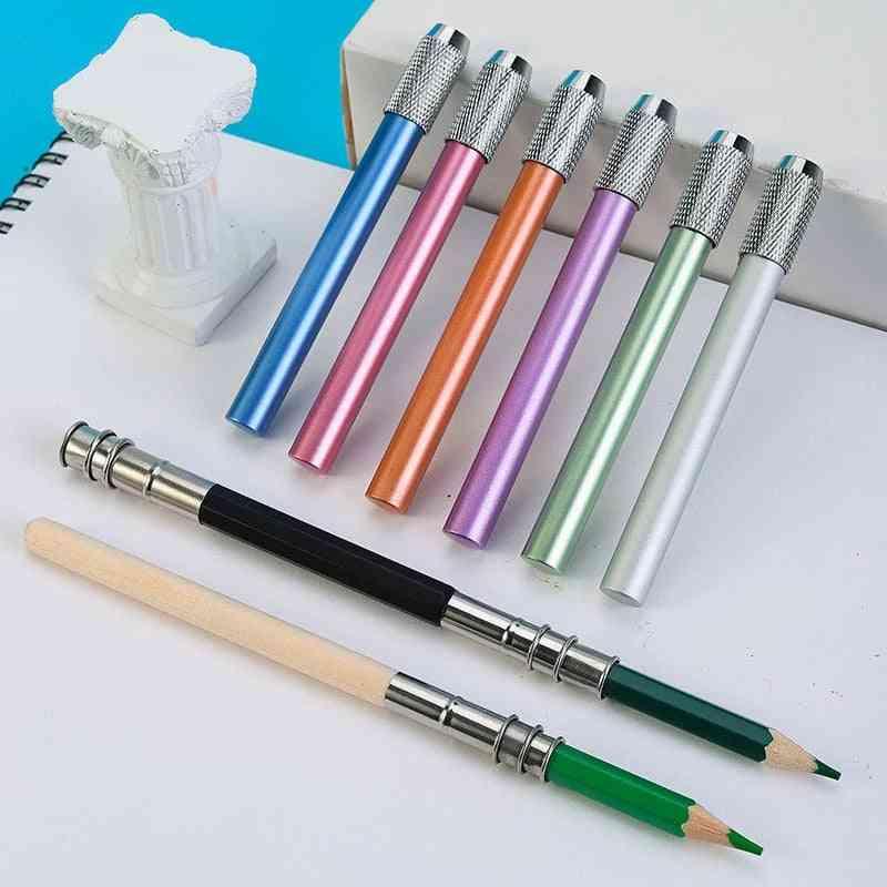 Dual-head Single Head Pencil, Lengthener Extender Holder Sketch