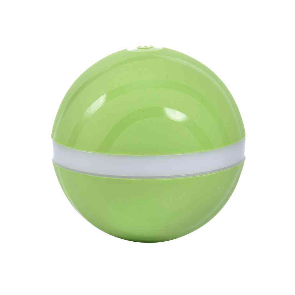 Active Waterproof Kid Toy, Magic Roller Ball, Jumping, Usb Electric Pet Led Rolling, Flash Fun Toy