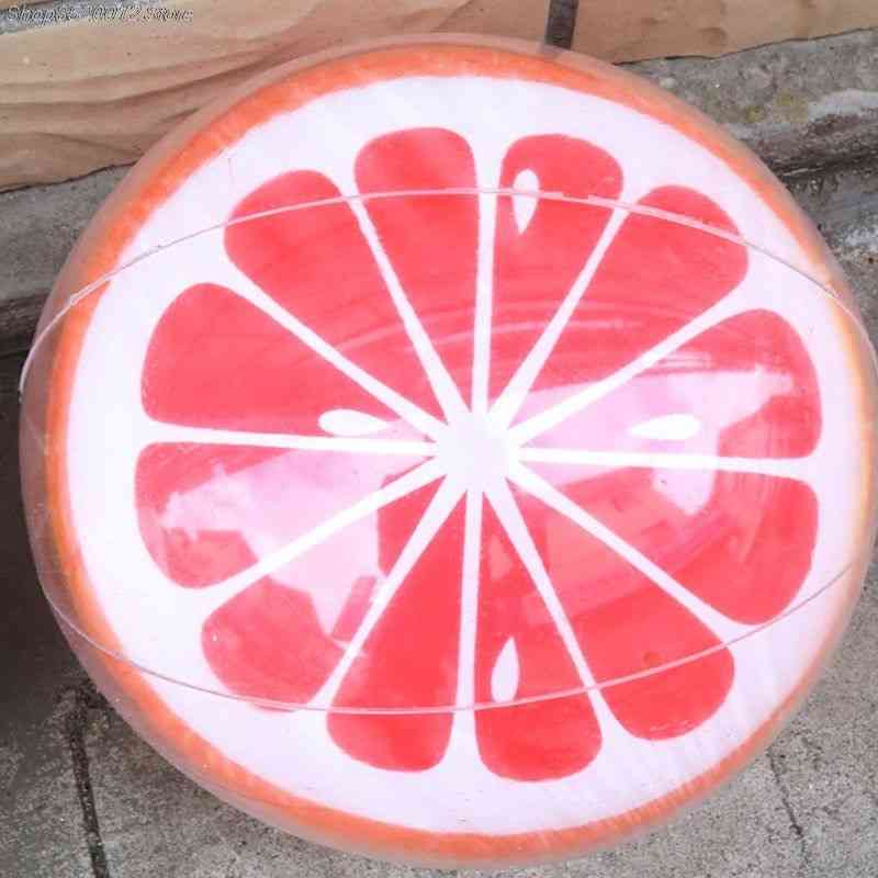 3d Inflatable Swimming Pool, Watermelon, Orange, Beach Party Ball, Summer Water Sport