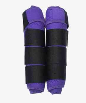 1pair Adjustable Equestrian Tendon Boots Horse Splint Leg Boot