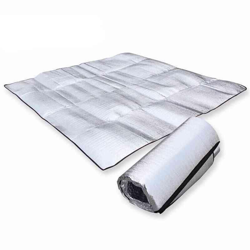 Aluminum Foil Mat, Foldable Sleeping, Beach Mattress, Outdoor Mat Pad