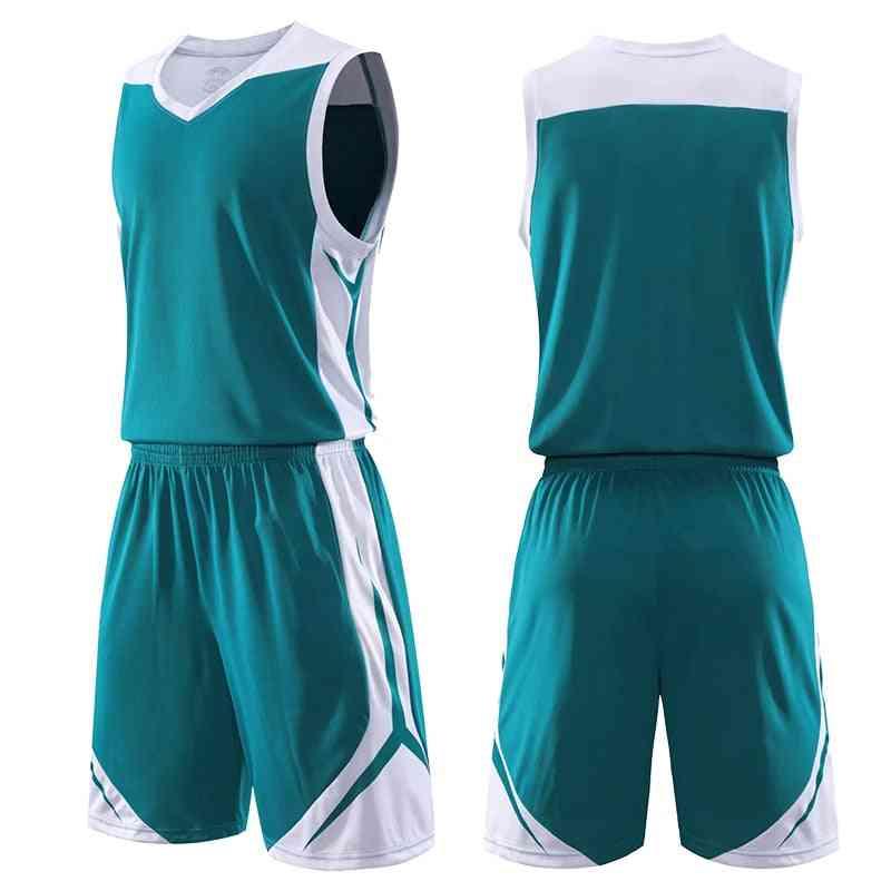 Men Kids Basketball Set Uniforms Sports Suits