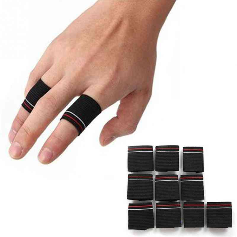 Essential Basketball Fans Flexible Finger Protector Guard Aid Band Basketball Accessories