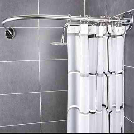 Punching Shower Curtain Rod