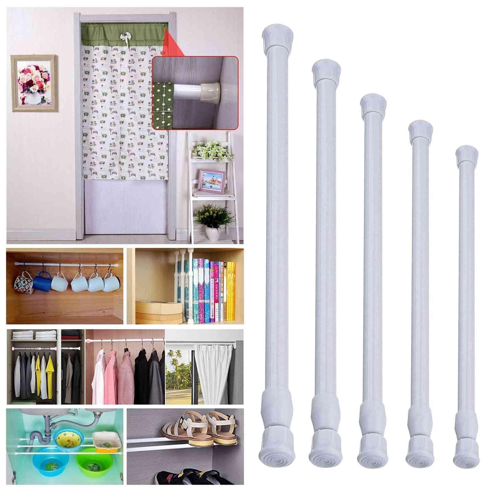 Spring Curtain Short Tension Bar Hanger Rods