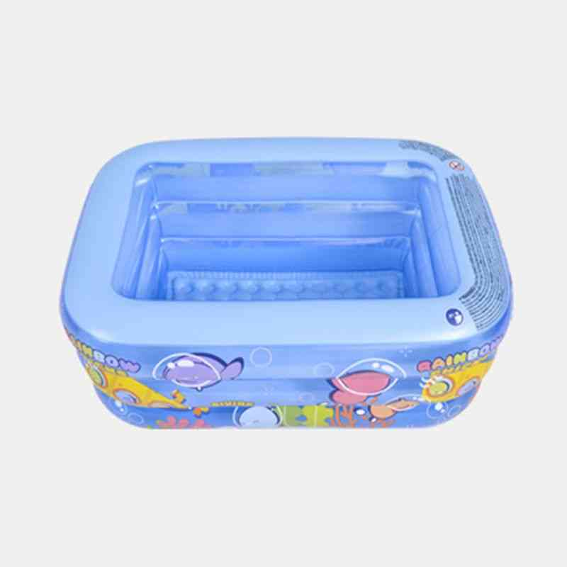 Baby Inflatable Swimming Pool, Kids Square Tub