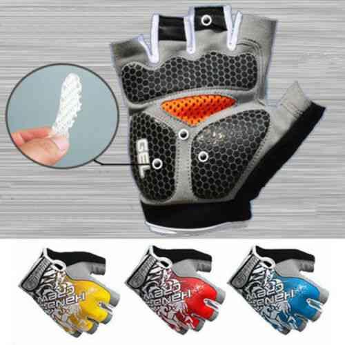 3d- Gel Padded, Anti-slip Gloves, Gym Weight Lifting, Women