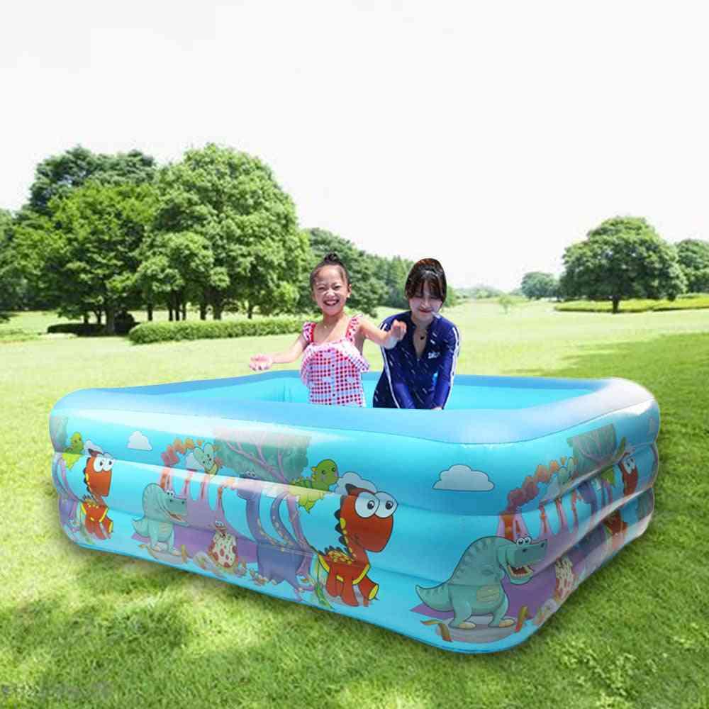 Kids Dinosaur Inflatable Pool,'s Home Use Paddling Pool