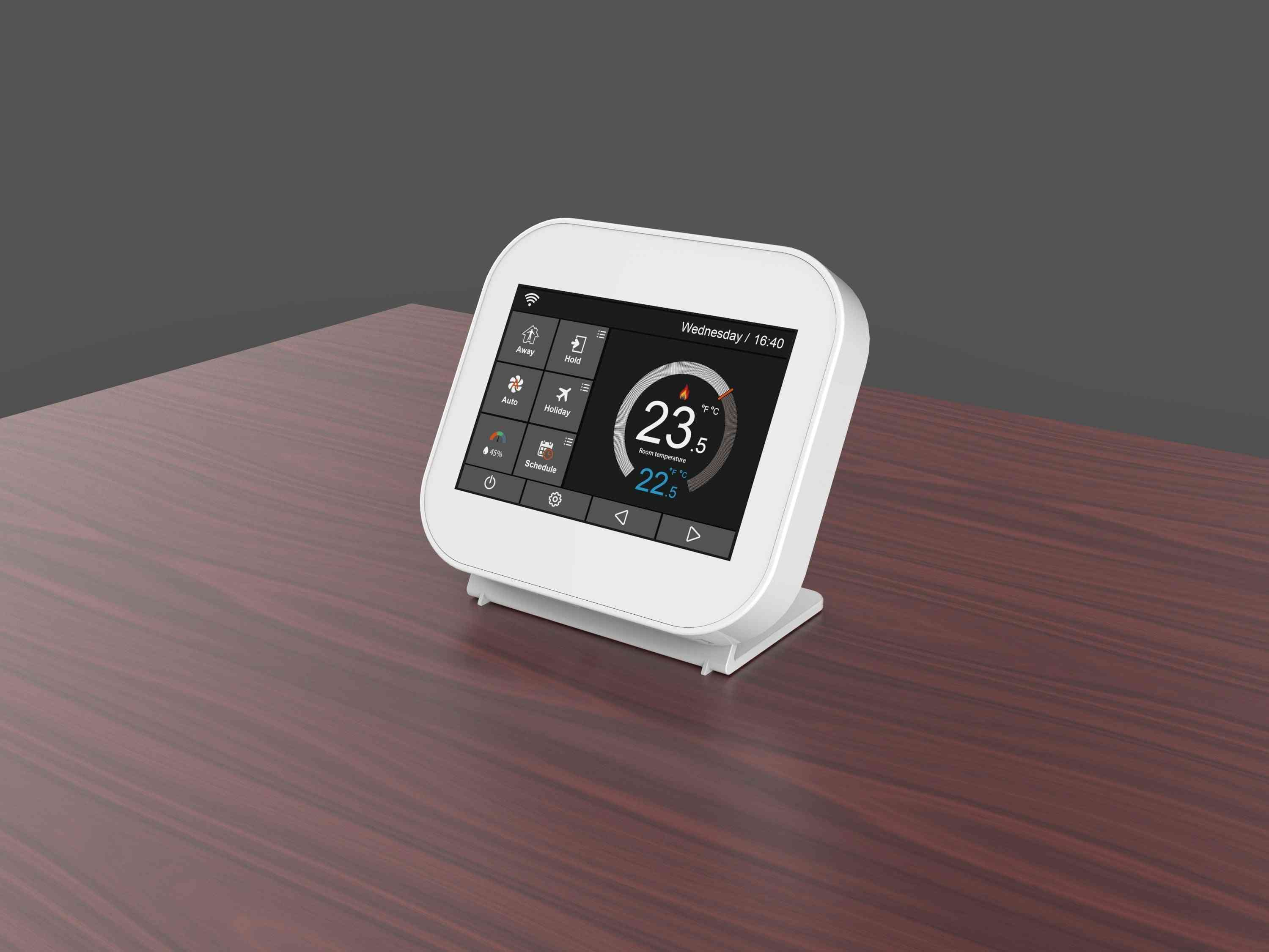 Smart Control Wireless Gas Boiler Roomtthermostat
