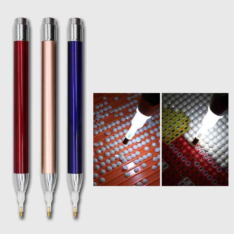 Point Drill Pen Square Round Diamond Painting Tool
