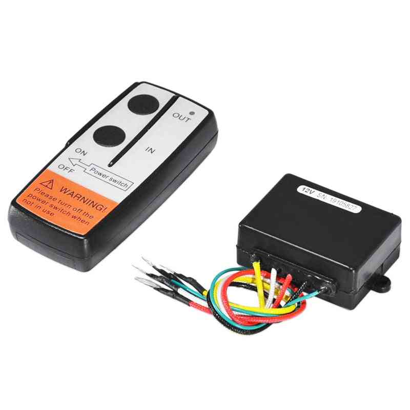 Car Wireless Winch Electric Remote Control