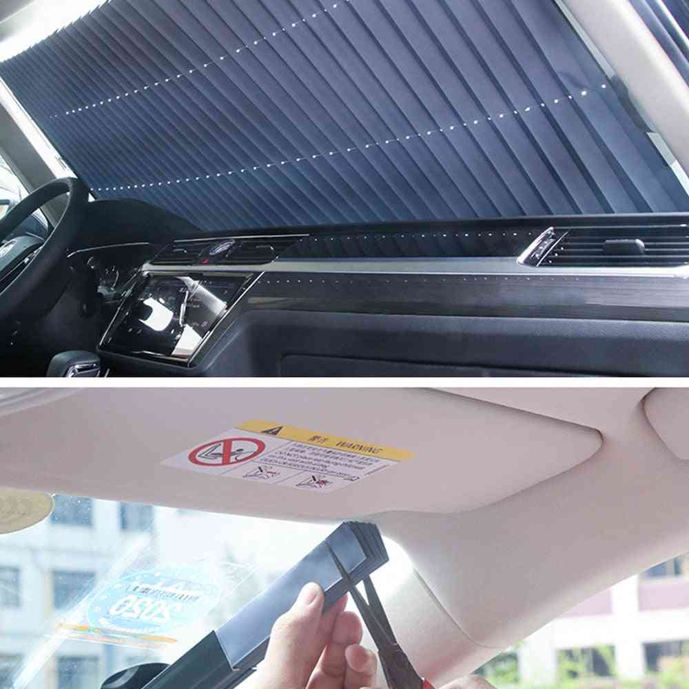 Retractable Folding Car Sunshade Cover
