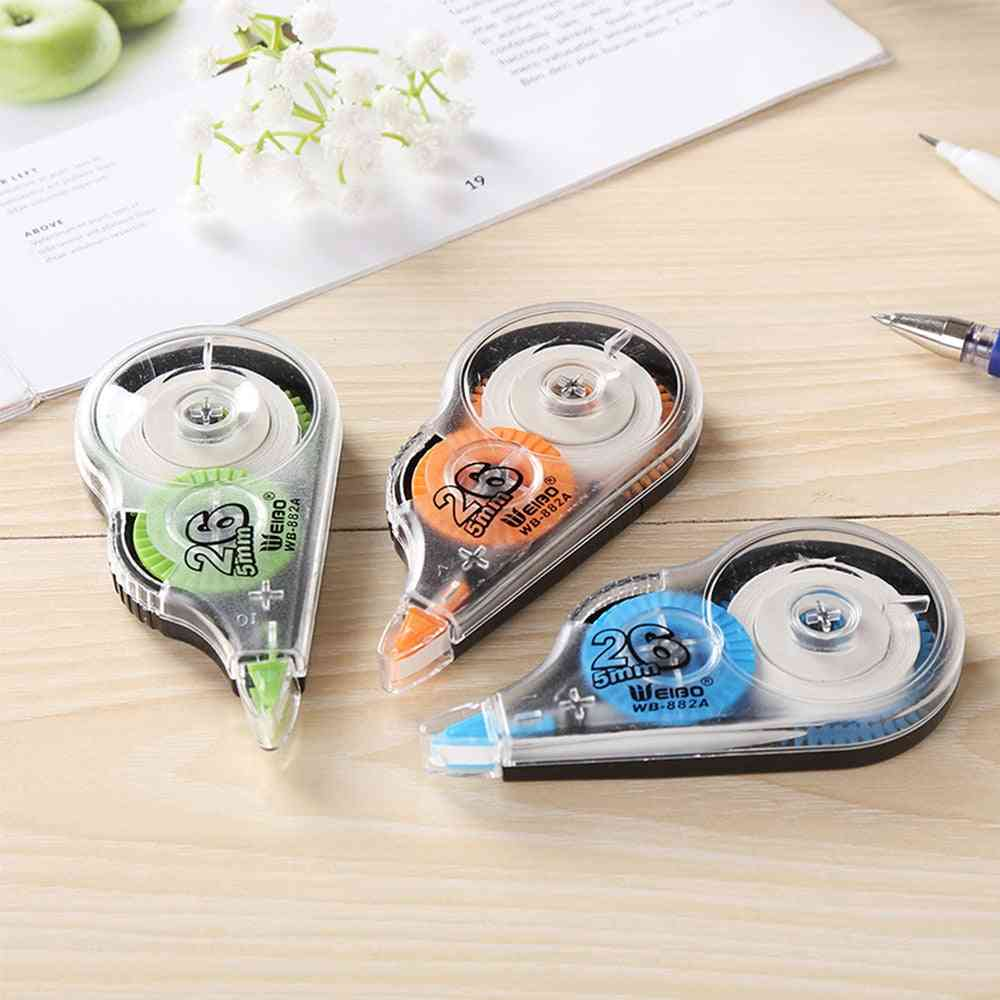 White Out Corrector, Correction Tape, Stationery, School, Office Supply