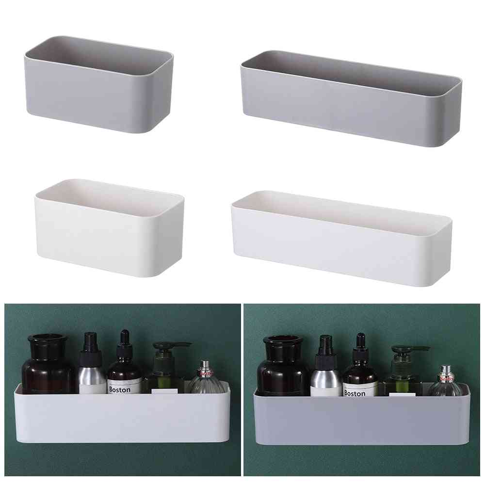 Wall Mounted Cosmetic Storage Box Holder