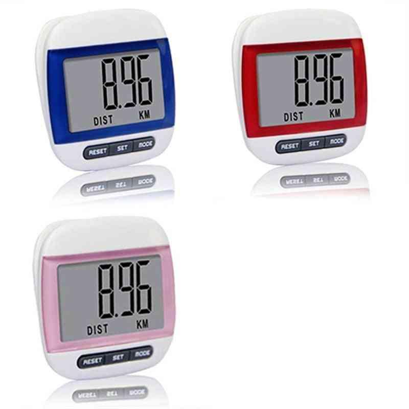 Mini Waterproof, Step Movement, Calories Counter, Digital Pedometer For Running