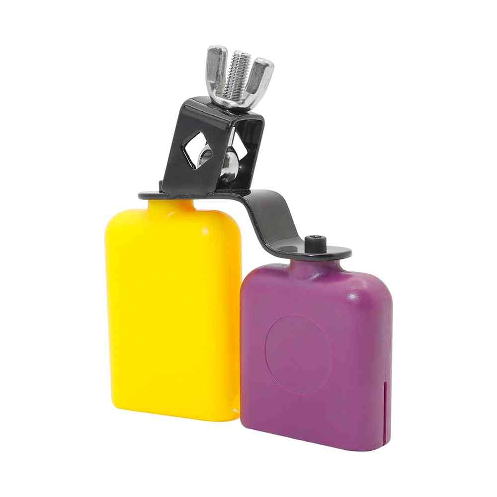 Double Sambago Bell, Percussion Latin Music Cowbell