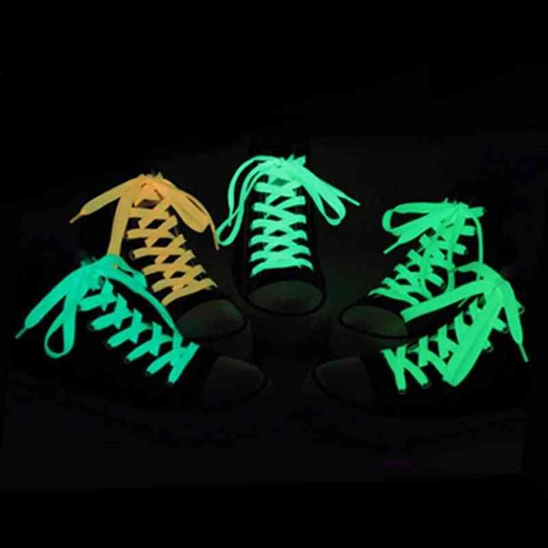 Sport Shoelace Luminous Canvas Shoes Accessories