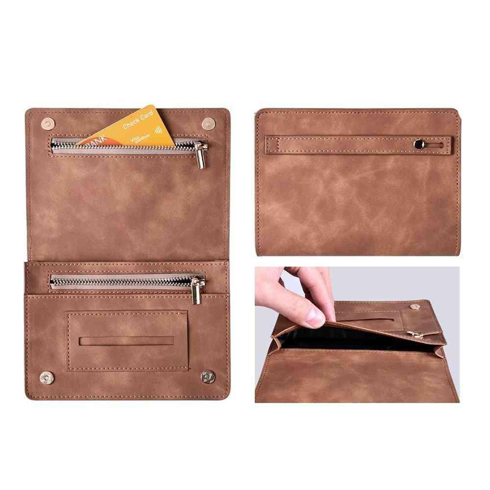 Tobacco Bag Cigarette Pouch Case Wallet Tip Paper Holder