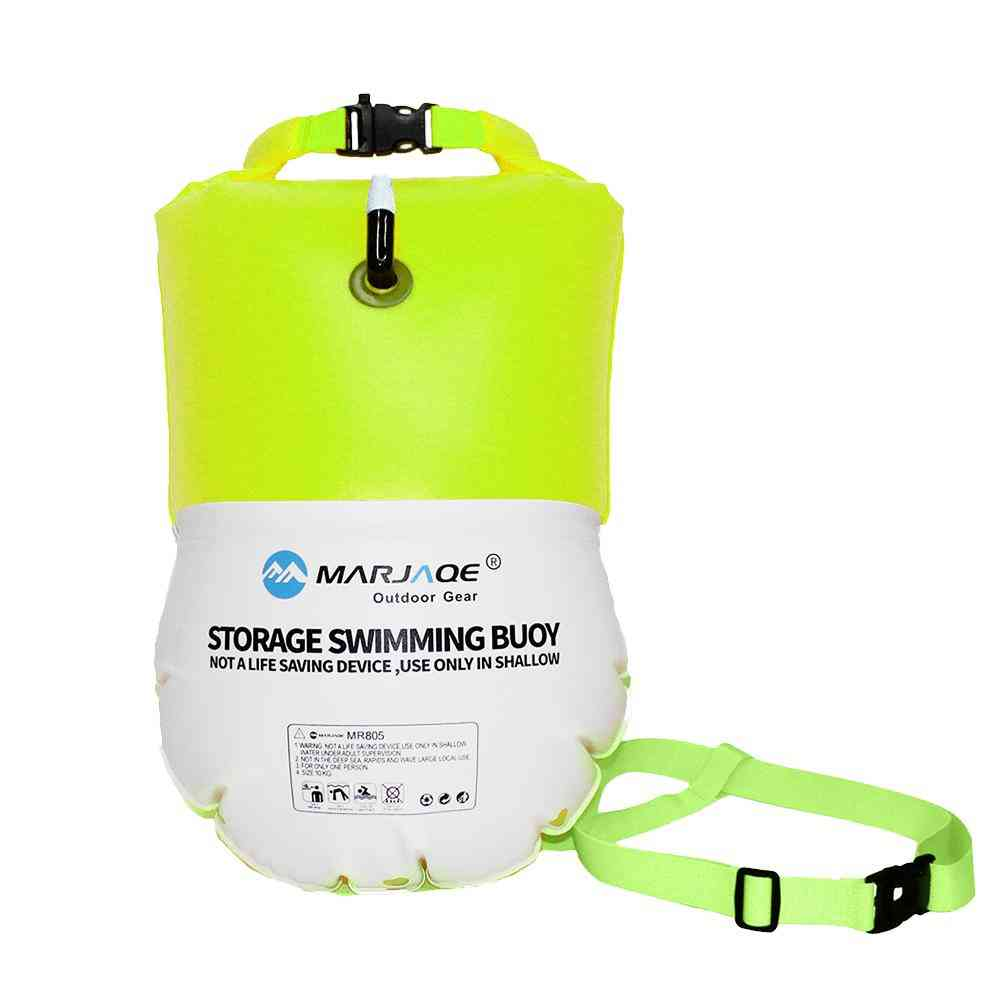 Waterproof Swimming Buoy With Dry Bag