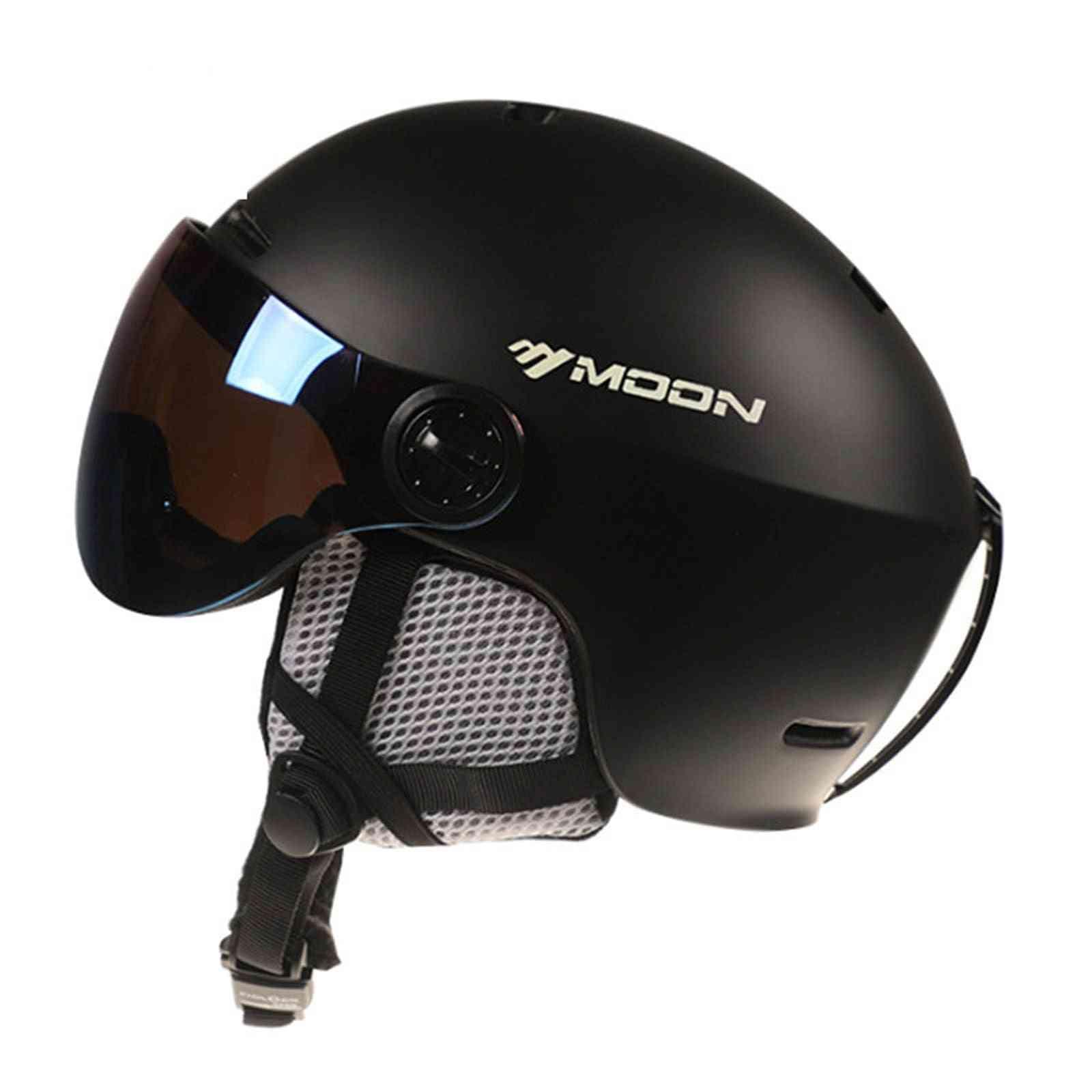Winter Warm Snowboard Skiing Safety Sled Helmet