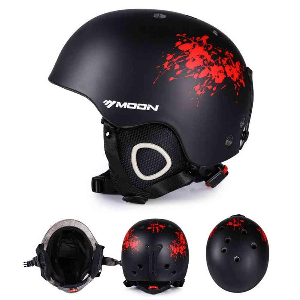 Hard Skating Adjustable Strap Skiing Helmet
