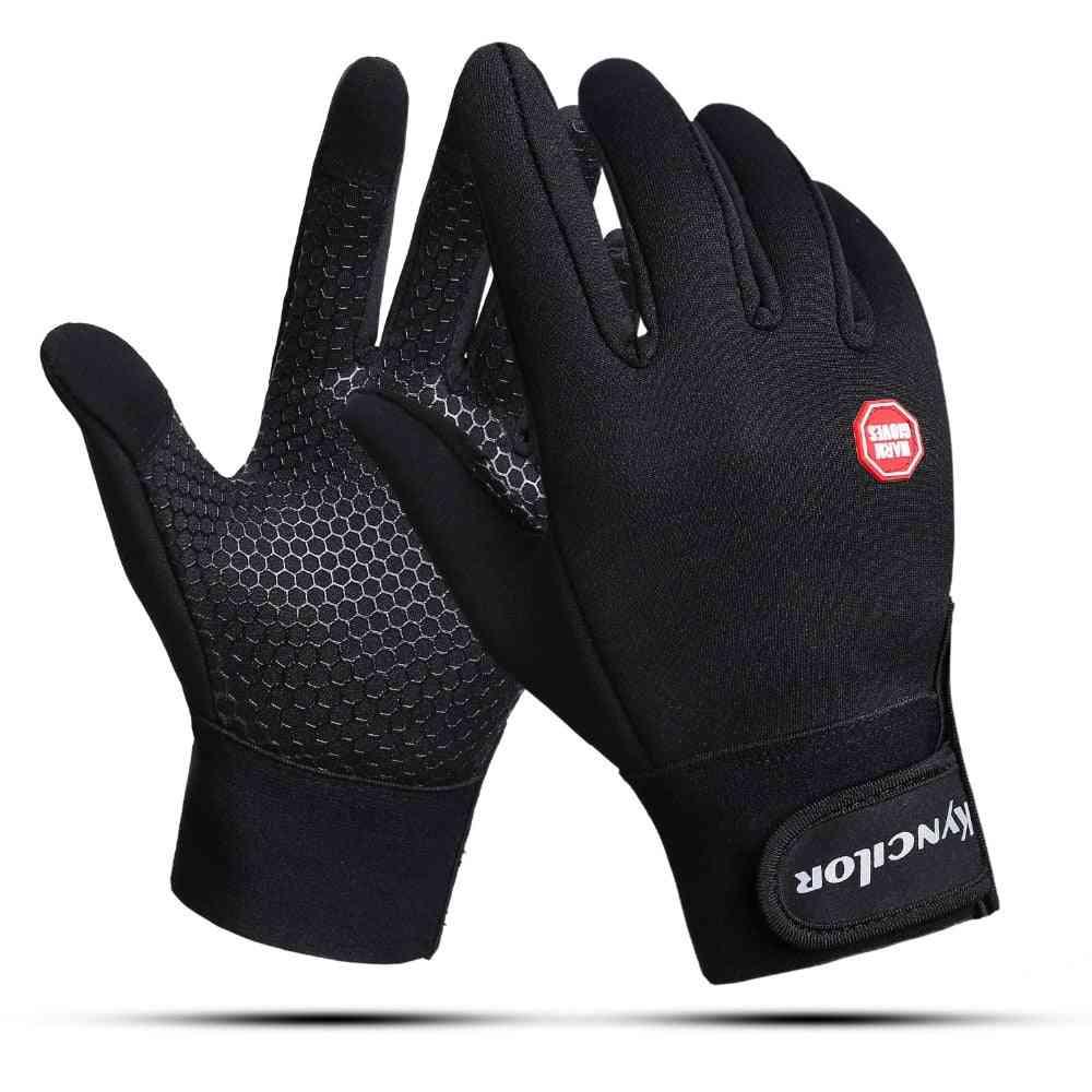 Outdoor Sports Anti-slip Windproof Bike Full Finger Gloves