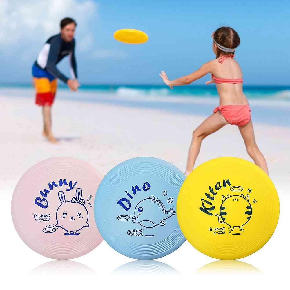 Lightweight Cartoon Flying Discs For Beach Play