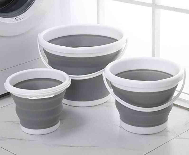 Silicone Folding Bucket