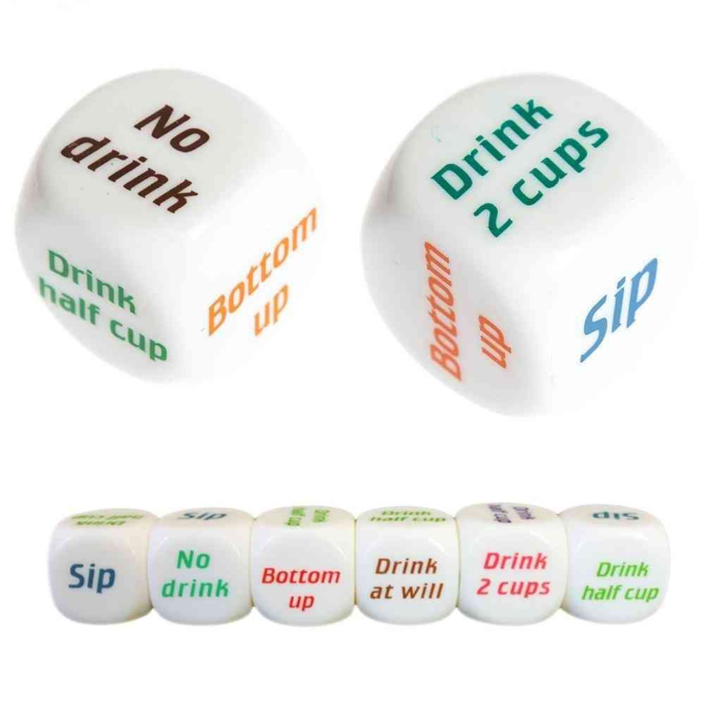 Party Game Playing Drinking Wine Mora Dice