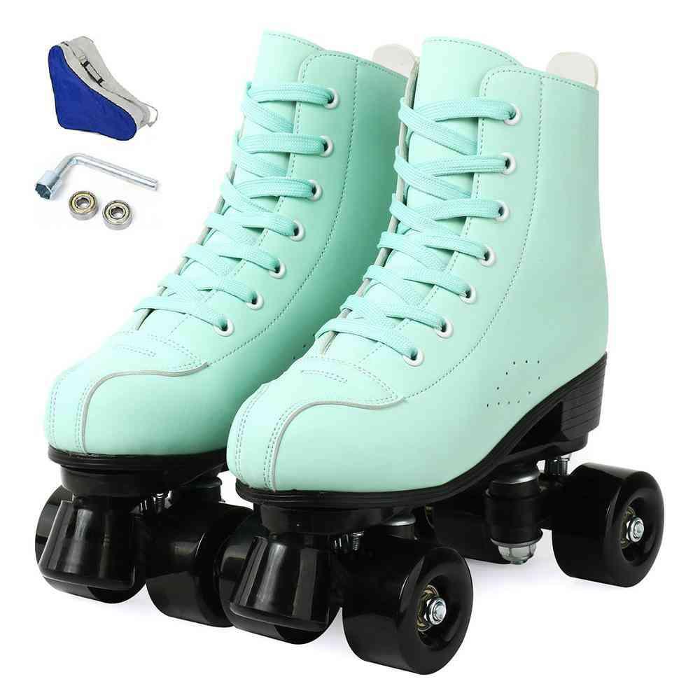 Women 21 Choice Pu Microfiber Roller Skates( Set 1)