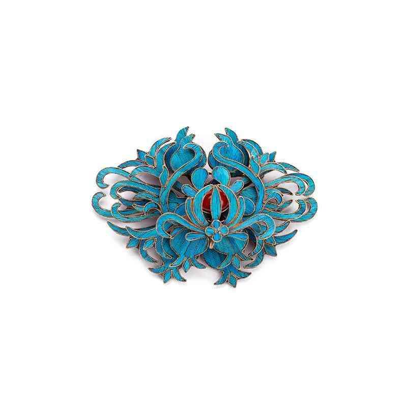 Craftsmanship Handmade Filigree Brooch Women Charm Brand Jewelry