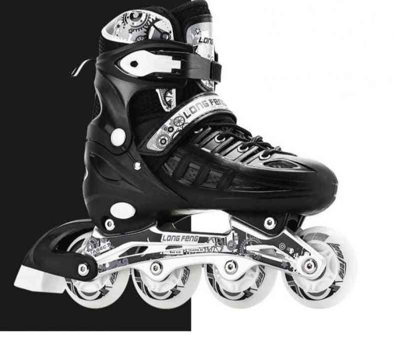 Boys Girl Women Adult Flat Roller Skates