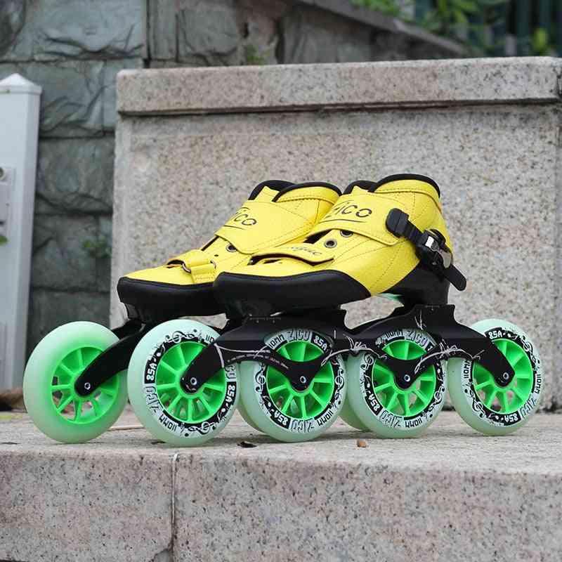 Indoor Speed Racing Long Street Skates Shoes