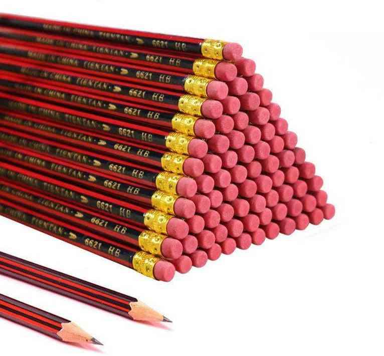 Lot Sketch Pencil Wooden Lead Pencils