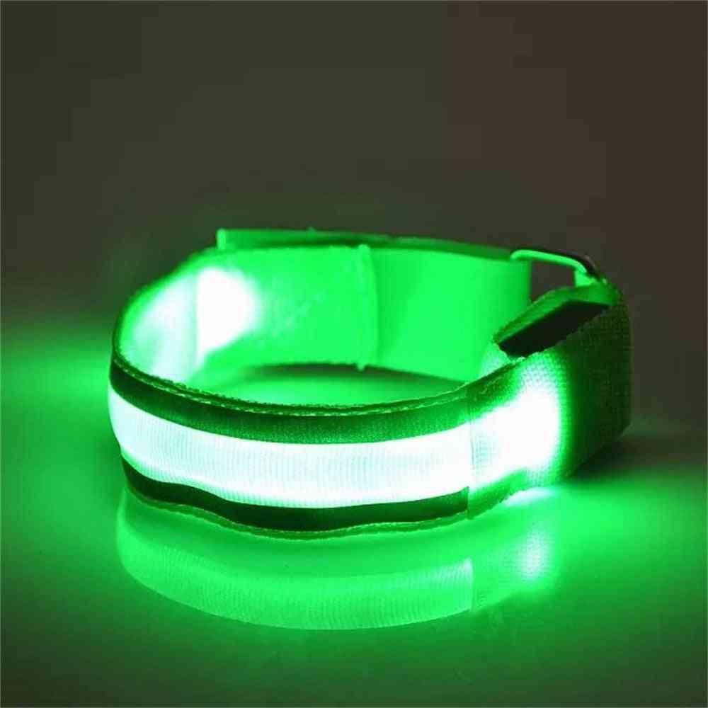 Light Band Reflective Led Light Arm Armband Strap Safety Belt