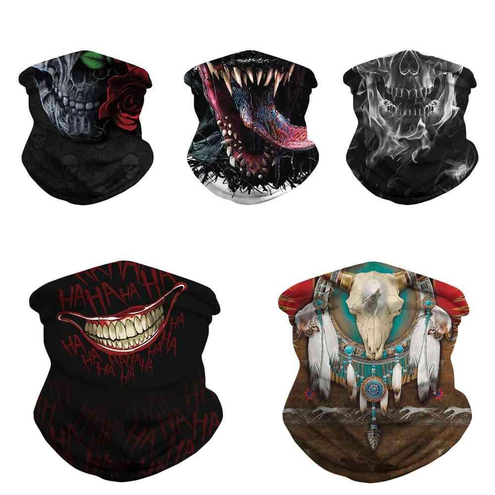 Digital Print Magic Scarf Personalized Mask