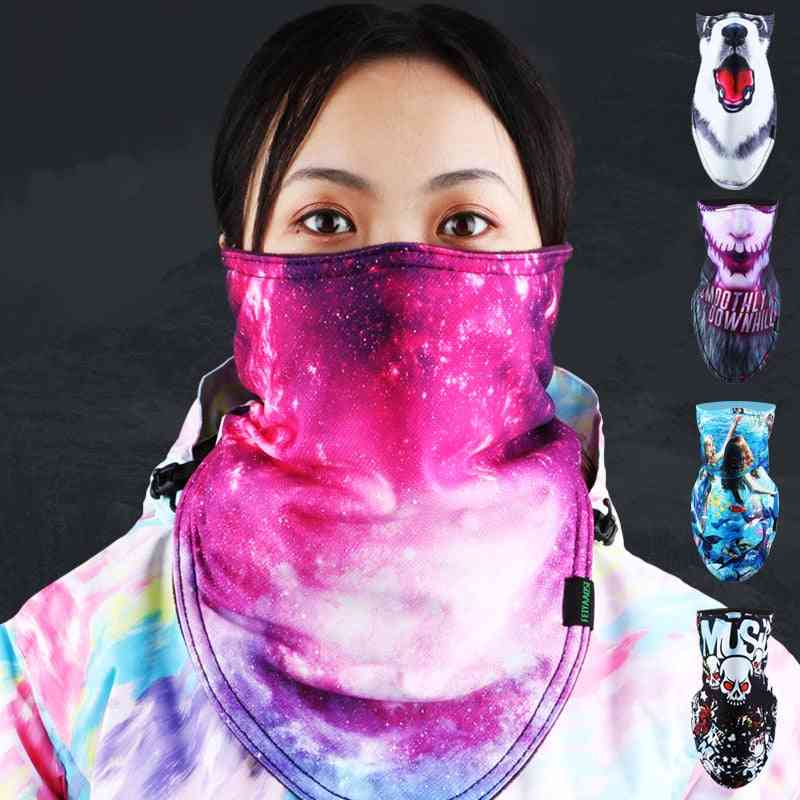 Snowboard Scarf Skiing Mask